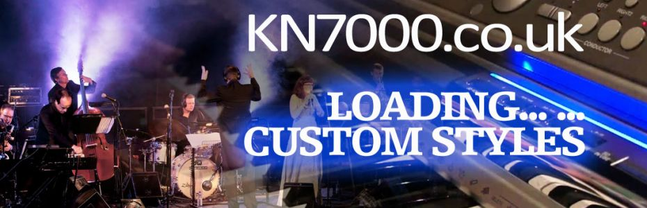 KN7000: Loading 'All Custom Styles'