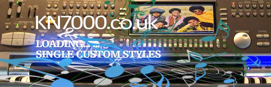 KN7000: Loading Single Custom Styles
